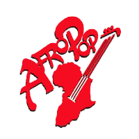 Afropop Worldwide guitar logo